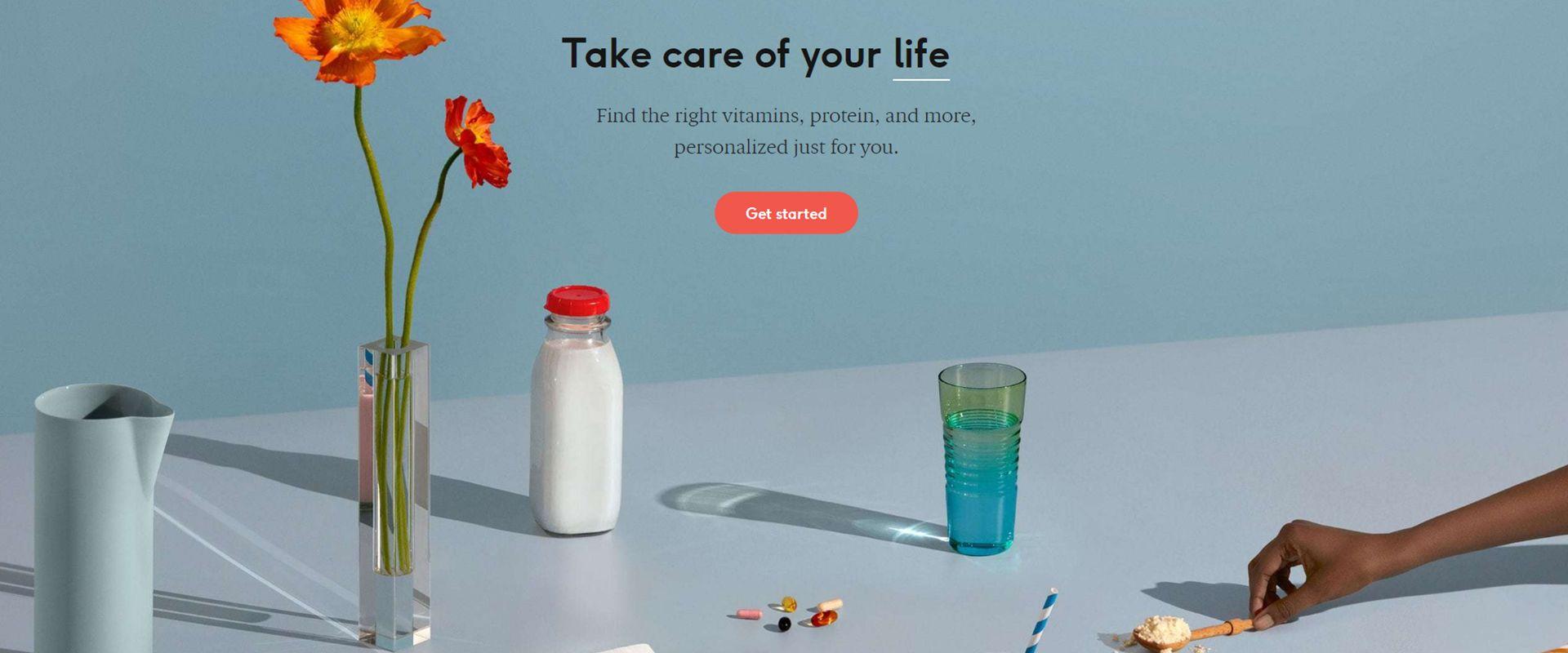 "Care/of . צילום מסך מתוך אתר החברה / צילום: יח""צ"