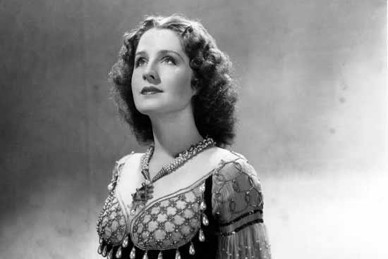 נורמה שירר בסרט רומיאו ויוליה 1936/   צילום: רויטרס mpvimages