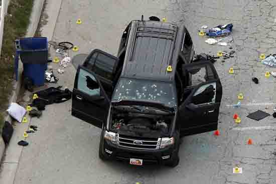 הפיגוע בסן ברנרדינו/ צילומים: רויטרס - Mario Anzuoni