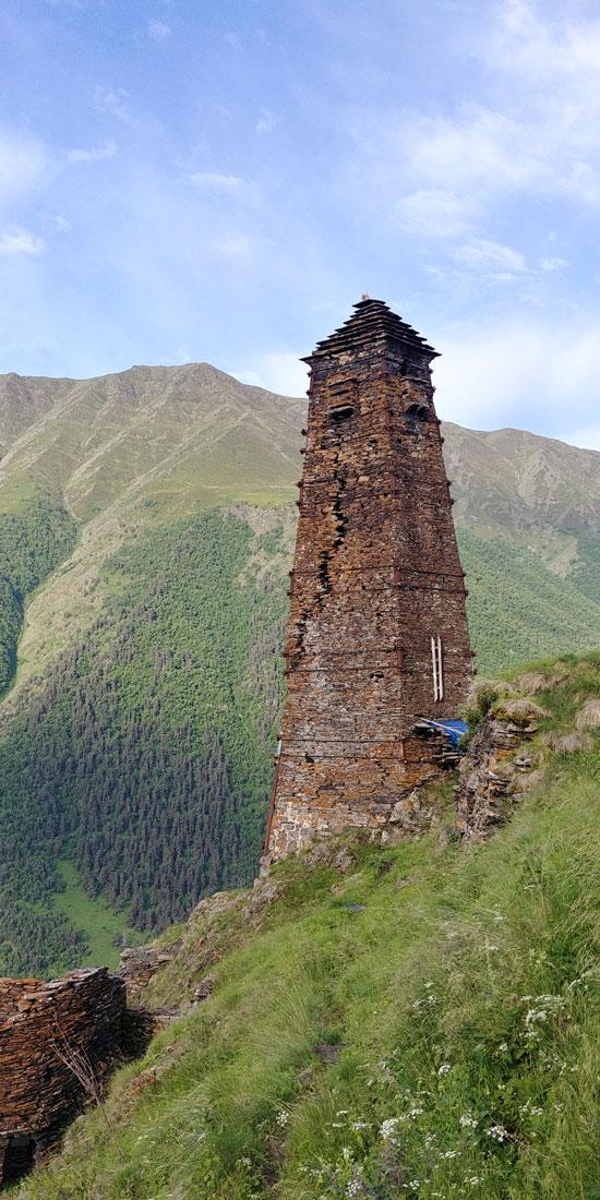מגדל שמירה בכפר נטוש  / צילום: נועם גוטמן