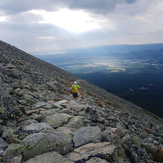 רני גבע  בהרי הטטרה/ צילום: רני גבע