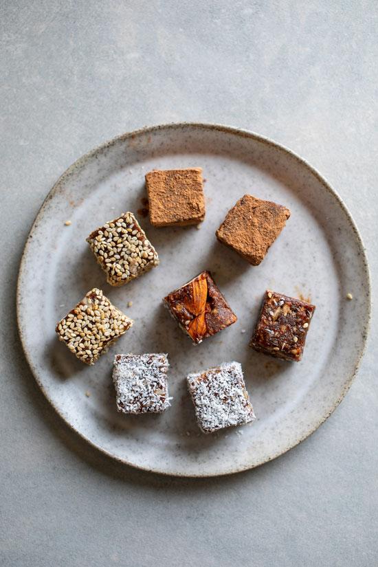 שוקולד אגוזים וטחינת אל ארז/ צילום: חיים יוסף