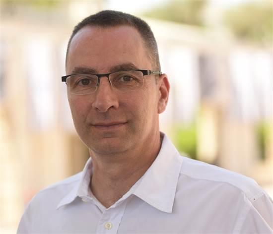 """ירון רביד, מנכ""""ל סיטיפס, הרכבת הקלה בירושלים/צילום: סיטיפס"""