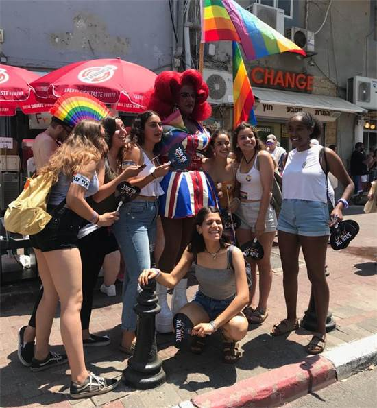 מצעד הגאווה בתל אביב היום / צילום: מיכל רז-חיימוביץ'