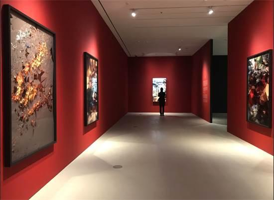 גלריה לאמנות / קרדיט לאמנות: Quayola(UK), Iconographies, Ditone print mounted on Dibond, Courtesy of bitforms gallery