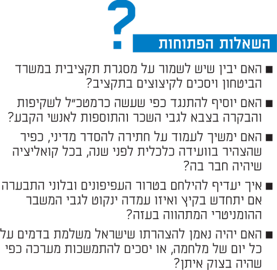 השאלות הפתוחות