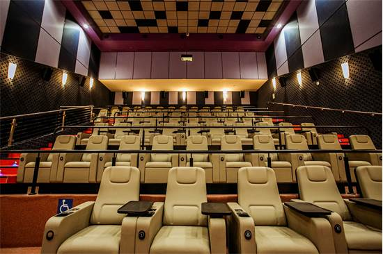 """אולם VIP בסינמה סיטי באר שבע / צילום: עידן אסלן, יח""""צ"""