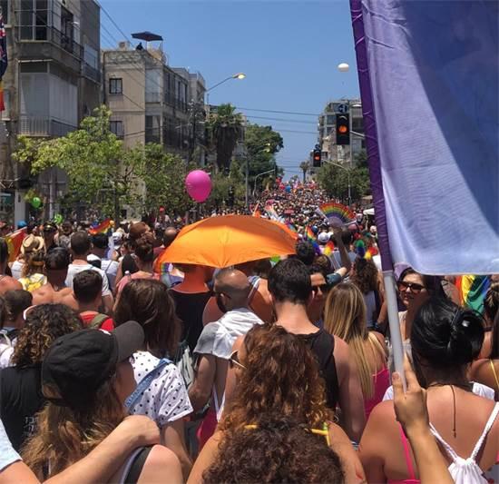 מצעד הגאווה בתל אביב היום