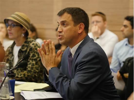 שאול מרידור בדיון בוועדת הכספים / צילום: רפי קוץ, גלובס
