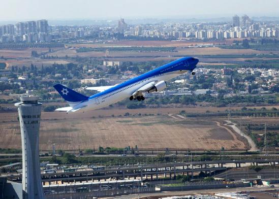 """מטוס ראש הממשלה / צילום: יואב וויס, תע""""א"""