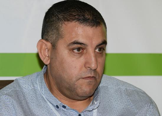חוסאם אבו בכר, מנהל סניף עפולה במוסד לביטוח לאומי  / צילום: איל יצהר, גלובס