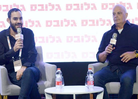 """יובל דיסקין, ממייסדי סיימוטיב ואופורה, ראש השב""""כ לשעבר בשיחה עם עמרי זרחוביץ', גלובס / צילום: איל יצהר, גלובס"""