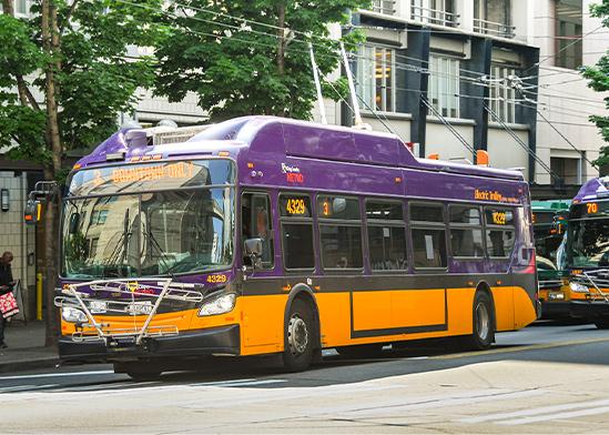 אוטובוס, סיאטל / צילום: Shutterstock/ א.ס.א.פ קריאייטיב