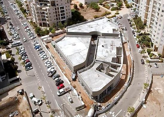 המרכז החדש הנבנה בשכונת כוכב הצפון בתל אביב / צילום: רומן גרוניך