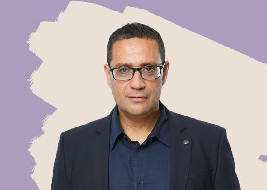 """יואב פרץ, מנכ""""ל אולפני הרצליה/ צילום: ינאי יחיאל"""
