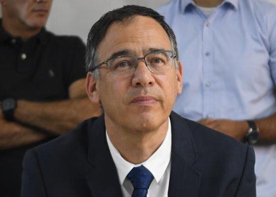 שי ניצן בטקס הפרידה של איילת שקד ממשרד המשפטים / צילום: רפי קוץ