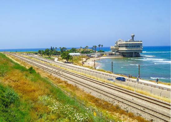 המסילה בחיפה / צילום: shutterstock, שאטרסטוק
