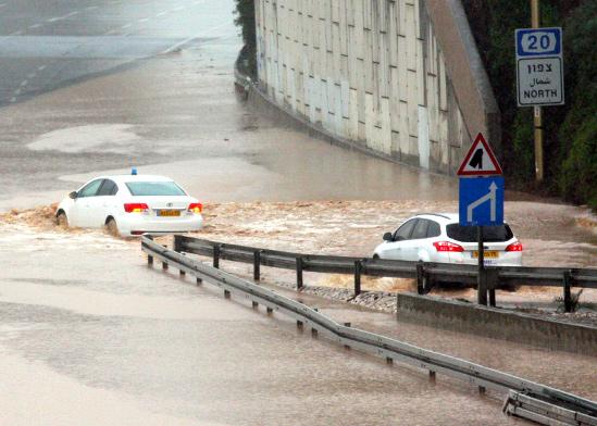 האיילון ב־2013. בהיעדר צינור תתרחש הצפה פעם ב־35 שנה   / צילום: רוני שיצר