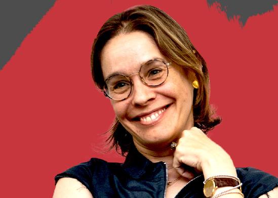"""אלונה בראון, יו""""ר גלובס, כנס רואי חשבון / צילום: כדיה לוי"""
