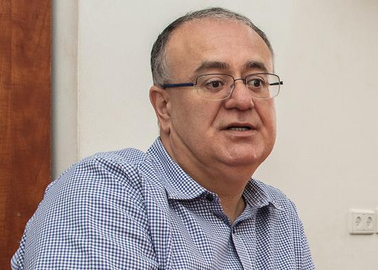 עבד אלחי, ראש עיריית טירה / צילום: כדיה לוי