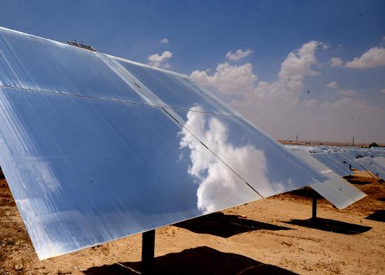 מתחם סולרי באשלים / צילום: איל יצהר, גלובס
