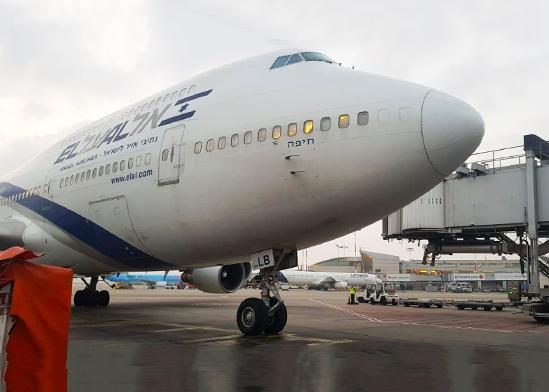 מטוס אל על 747 4X-ELB  / צילום: אסף הסק