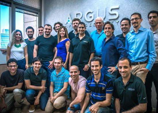 """צוות חברת ארגוס, בה השקיע זיסאפל ואשר נמכרה לקונטיננטל הגרמנית ביותר מ־400 מיליון דולר / צילום: יח""""צ"""