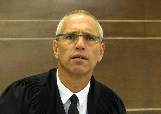 השופט גלעד הס / צילום: שלומי יוסף