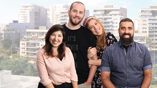 """מתוך הקמפיין של שפיר לדירות בשכונת צוותא, שפיר / צילום: יח""""צ"""