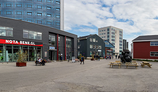 מרכז מסחרי בנוק / צילום: shutterstock, שאטרסטוק