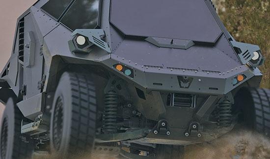 רכב של כארמור / צילום:  אתר החברה