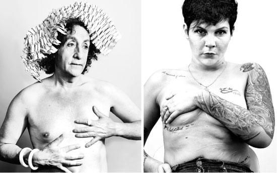תהילה, גופה מספר את סיפורה. משמאל: איש החברה הגבוהה, לונדון / צילום: ג'ון אופנבך