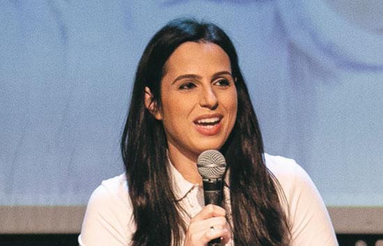 דפנה ליאל, הכתבת הפוליטית של חדשות 12 / צילום: כדיה לוי
