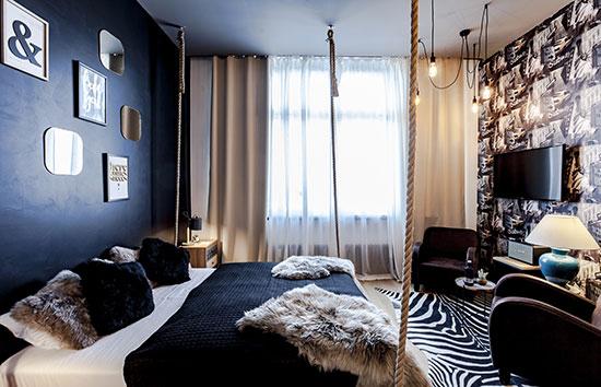 """חדר אירוח משותפים של rent24. פתרון לינה למי שמעוניין וגם בידול מהמתחרים  / צילום: יח""""צ"""