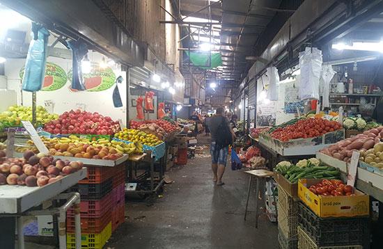 מתחם השוק הישן / צילום: גיא נרדי