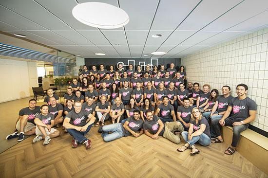 עובדי מרכז הפיתוח של גונג בישראל / צילום: גיקטיים אינסיידר