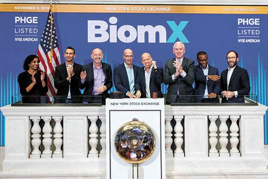 ביומיקס וצ'רדן פותחות את המסחר בניו יורק  / צילום: NYSE