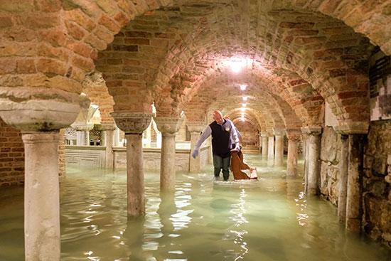 הבזיליקה של סיינט מארק, ונציה, היום / צילום: Manuel Silvestri, רויטרס