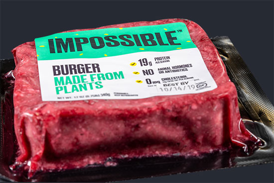 אימפוסיבל וופר, ההמבורגר הצמחוני של בורגר קינג / צילום: שאטרסטוק