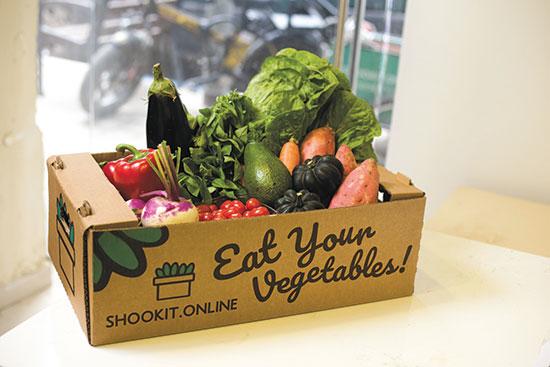 Shookit, פלטפורמה למסחר ומשלוחים של ירקות ופירות / צילום: הגר בדר