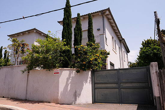 הבית ברחוב בוסתנאי / צילום: איל יצהר