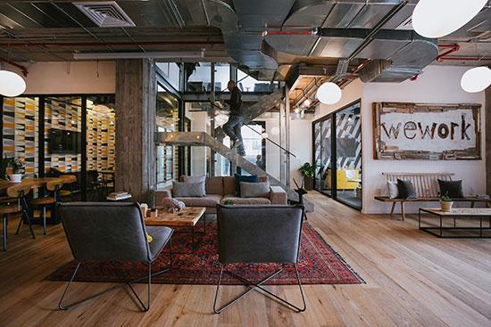 חלל עבודה של wework / צילום: שירן כרמל