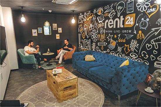 הסניף של rent24 בתל אביב / צילום: אורי ישי