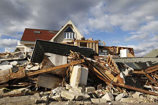 ההרס אחרי הוריקן סנדי / צילום: shutterstock, שאטרסטוק