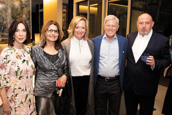 הראל ויזל, ג'יי וג'ני שוטנשטיין, דליה איציק ושרה אהרונסון  / צילום: רעיה קוטרל