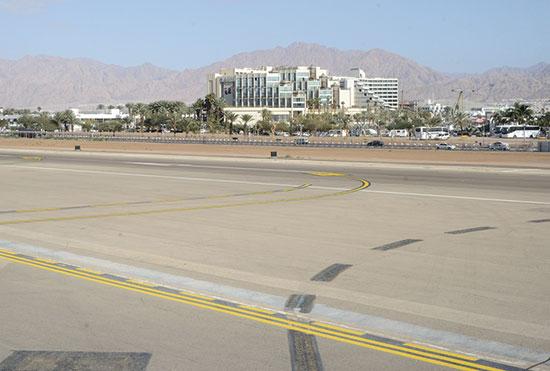 שדה תעופה הישן באילת / צילום: איל יצהר, גלובס