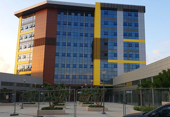 SPACE, בניין משרדים, מערב ראשון לציון / צילום: גיא ליברמן, גלובס
