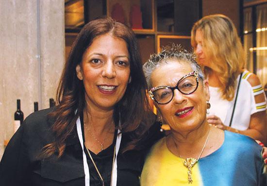 חנה פרי זן (מימין) וטליה גזית  / צילום: יונתן אוחיון