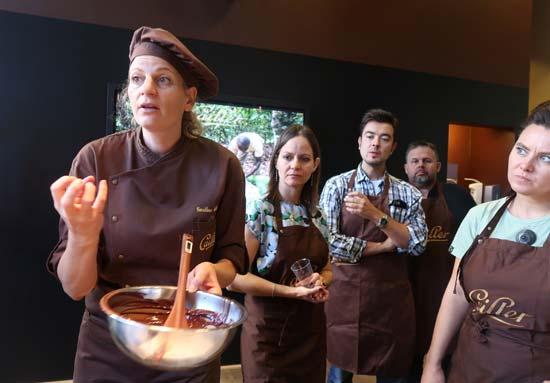 סדנת השוקולד/ צילום: רוני ערן