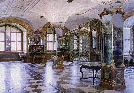 """אולם בחדר האוצר ההיסטורי, מוזיאון """"חדר האוצר הירוק"""" שבדרזדן, גרמניה  / צילום: SvenS D, ויקיפדיה"""